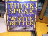 NEW Think, Speak, and Write Better! (The Easiest Way to