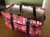 Thirty One Deluxe Utility Tote - Bold Bloom  Brand new
