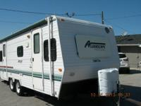 Just took in trade this Holiday Rambler travel trailer