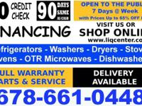** This Sunday 12-5p Washers and Dryers from 125.00 on
