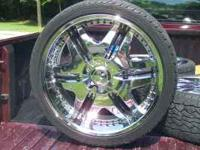"22"" Liberty Rims with unilug pattern came off of a"