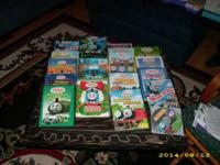 Thomas and Friends DVDs plus back pack asking $15.00