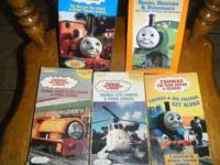 I have 5 Thomas and friends vhs tapes that work great.