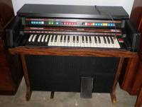 "I have an organ ""THOMAS BY HEATHKITT"", handcrafted by"