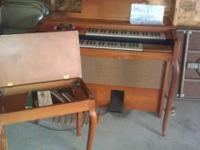 $100.00 or best offer. Thomas Organ, good condition but