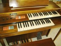 THIS ORGAN IS JUST LIKE NEW...IN LOOKS AND SOUND!!OUR