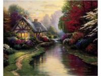 Thomas Kinkade - A Quiet EveningSize: