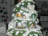 Thomas Kinkade Christmas Tree ,mint condition, Year