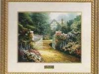 "Thomas Kinkade ""Hidden Cottage"" Library Edition with"