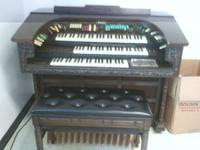 I have a Thomas trianon organ for sale $550.00 or best