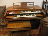 thomas organ and bench model 205 serial 883497
