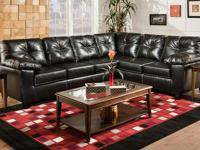 Thomas Sectional- MADE IN THE USA! *Covered in genuine