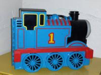 Selling one Thomas Take Along Carrier, five trains