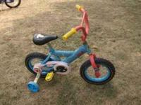 Thomas the Tank Engine Tomas-themed 12-inch bike. The