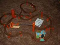We have a Zip, Zoom and Logging Adventure TrackMaster