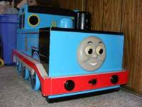 Wood toy chest for sale. Thomas the tank. Paid $499.99