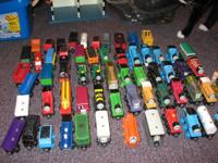 I have a large lot of Thomas the Train items for sale.