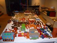 More than two hundred and fifty pieces of Thomas the