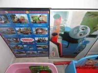 Large Framed Thomas the Train posters. $20 each or will
