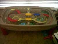 I'm selling a Train table over 40 different thomas
