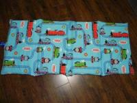 Selling barely used Thomas the Train nap mat cover that