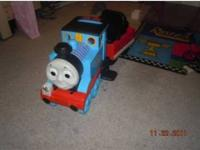 Thomas the Train Ride On-Peg Perego. Good Condition.