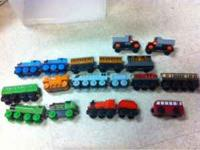 Thomas and friends. Paid over $400 for all of it.