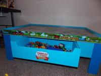 Hi I have a Thomas the train table about a year old my