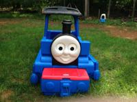 Thomas the train toddler bed with mattress. In great
