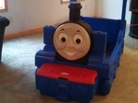 "Thomas the Train ""Little Tikes"" bed is in excellent"