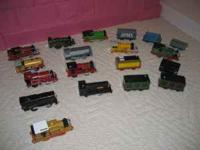 set of battery powered Thomas the train trains with