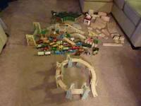We have a large array of Thomas the train wooden