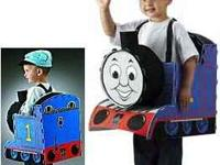 Cute Thomas the Train Halloween Costume. Can wear jog