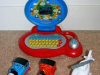 Mixed lot of Thomas Train. Vtech Thomas Train Laptop,