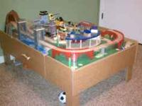 This is an Imaginarium brand Thomas train table. Great