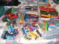 Thomas Trains and Friends Lot also with a box full of