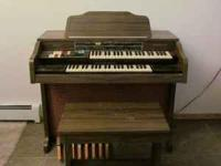 organ,bench and music great for young learners  Jim or
