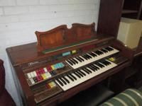 Thomas Californian 281 Organ with bench. Practical but