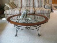 Beatifull cherry oval coffee table. Original price