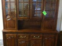 Thomasville Chalet country french dining room table,