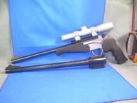 This is a THOMPSON/CENTER, ENCORE PRO HUNTER, stainless