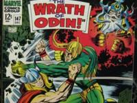 THOR# 147 Dec 1967 Origin of the Inhumans Kirby Art