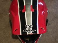 Thor Dirtbike helmet This ad was posted with the eBay