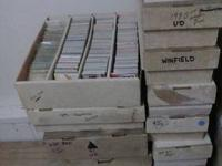 Bulk lot of Sports Cards All I can tell you is what