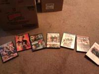 Three boxes of DVD's, $2 a piece or make me an offer