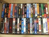 Have all these VHS movies, they are like new condition