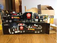I have three die cast vehicles. One Is a auto hauler