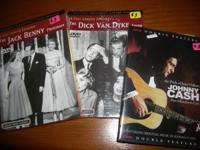 I have two new (selling for three each) DVD's and one