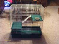 Chinchilla or ferret cage three level made by My super