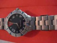 I have three mens watches for sale. 1. Black Fossil